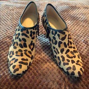 Calvin Klein calf hair boots